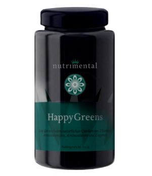 HappyGreens im Blauglas 137 g