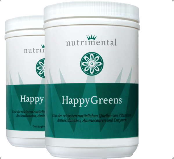 HappyGreensThreeMonth  {2 x 500 g }